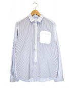 08sircus(サーカス)の古着「デザインシャツ」 スカイブルー