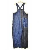 KAPITAL(キャピタル)の古着「デニムオーバーオ-ル」|インディゴ