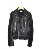 upper hights(アッパーハイツ)の古着「ライダースジャケット」 ブラック