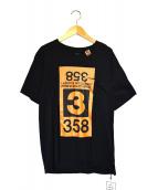 Maison MIHARA YASUHIRO(メゾンミハラヤスヒロ)の古着「358プリントTシャツ」|ブラック