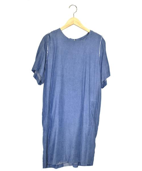 Acne(アクネ)Acne (アクネ) インディゴカットオフワンピース インディゴ サイズ:36の古着・服飾アイテム