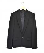 LITHIUM HOMME(リチウムオム・ファム)の古着「1Bテーラードジャケット」|ブラック