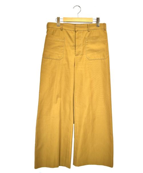 MARNI SUMMER EDITION(マルニサマーエディション)MARNI SUMMER EDITION (マルニサマーエディション) ワイドパンツ ブラウン サイズ:40の古着・服飾アイテム