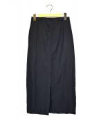 AURALEE(オーラリー)の古着「タイトスカート」|ネイビー