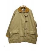 H BEAUTY&YOUTH(エイチ ビューティアンドユース)の古着「ステイトファイヤーマンコート」|ブラウン