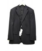 DURBAN(ダーバン)の古着「2Bテーラードジャケット」|ブラック