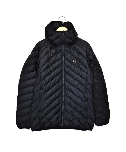 HAGLOFS(ホグロフス)HAGLOFS (ホグロフス) フーデットダウンジャケット ブラック サイズ:S 未使用品 604699 GENERIC MIMIC HOODの古着・服飾アイテム