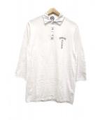 CHROME HEARTS(クロムハーツ)の古着「ポロシャツ」|ホワイト
