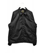 IRON HEART(アイアンハート)の古着「コーデュラナイロンウィンドブレーカー」|ブラック