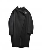 sophila(ソフィラ)の古着「ボトルネックウールコート」|ブラック