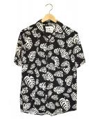 reyn spooner × EDIFICE(レインスプーナー×エディフィス)の古着「アロハシャツ」|ホワイト×ブラック