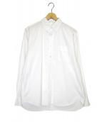 THE NERDYS(ザナーディーズ)の古着「ウディアレンボタンダウンシャツ」|ホワイト