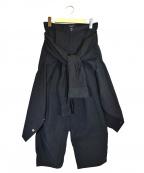G.V.G.V(ジーヴィージーヴィー)の古着「ウェストタイフライトスーツ」|ブラック