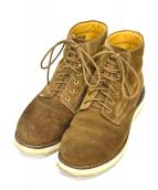 VISVIM(ヴィスヴィム)の古着「virgil folk boots」|ブラウン