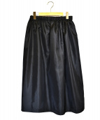 robe de chambre COMME des GARCONS(ローブドシャンブル コムデギャルソン)の古着「ナイロンイージースカート」|ブラック