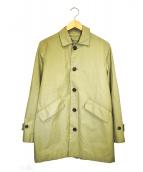 GRENFELL(グレンフェル)の古着「ステンカラーコート」|ベージュ