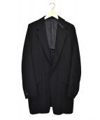 Y's(ワイズ)の古着「ウールギャバ3Bジャケット」|ブラック