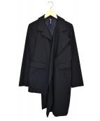 GROUND Y(グラウンドワイ)の古着「変形ジャケット」|ブラック
