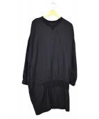 Y's(ワイズ)の古着「ブラウスワンピース」|ブラック