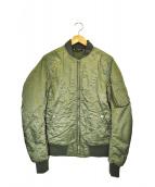 glamb(グラム)の古着「MA-1ジャケット」 カーキ