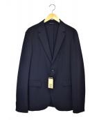 COMME CA MEN(コムサメン)の古着「アンコンジャケット」|ネイビー
