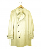 COMME CA MEN(コムサメン)の古着「サイドデザインギャバトレンチコート」|ベージュ