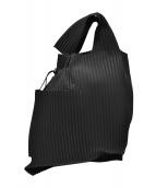 HOMME PLISSE ISSEY MIYAKE(オム プリッセ イッセイ ミヤケ)の古着「プリーツバッグ」|ブラック