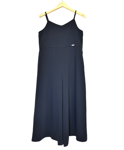 BLUE LABEL CRESTBRIDGE(ブルーレーベルクレストブリッジ)BLUE LABEL CRESTBRIDGE (ブルーレーベルクレストブリッジ) オールインワン ブラック サイズ:38の古着・服飾アイテム