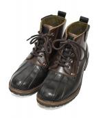 G.H.BASS(ジーエイチバス)の古着「Bean Boots」|ブラック×ブラウン