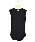 CLANE(クラネ)の古着「ノースリーブサーマルトップス」|ブラック