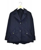 SOPHIA(ソフィア)の古着「ナイロンジャケット」|ネイビー