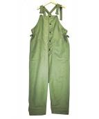 Engineered Garments(エンジニアードガーメンツ)の古着「オーバーオール」|カーキ