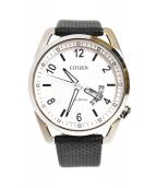 CITIZEN(シチズン)の古着「エコドライブ腕時計」|ホワイト
