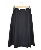 Vivienne Westwood RED LABEL(ヴィヴィアンウエストウッド レッドレーベル)の古着「ラップスカート」|ブラック