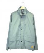Paul Smith JEANS(ポールスミス ジーンズ)の古着「コットンジップジャケット」|ライトグレー