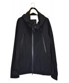 DESCENTE ALLTERRAIN(デサントオルテライン)の古着「フローテック3L ハードシェル ジャケット」 ブラック