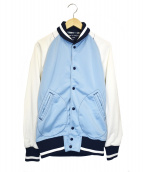 COMME des GARCONS HOMME(コムデギャルソンオム)の古着「パターン配色スタジャン」|ブルー