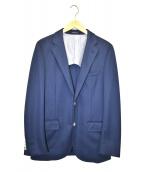 MACKINTOSH PHILOSOPHY(マッキントッシュフィロソフィー)の古着「アンコンジャージジャケット」|ブルー