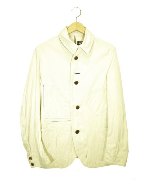 Waste(twice)(ウエストトワイス)Waste(twice) (ウェストトゥワイス) デニムカバーオール ベージュ サイズ:1の古着・服飾アイテム