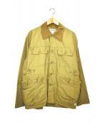 SASSAFRAS(ササフラス)の古着「ハンティングジャケット」|ベージュ