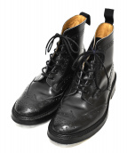 Tricker's(トリッカーズ)の古着「カントリーブーツ」|ブラック