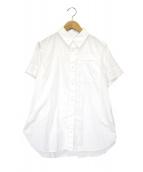 Y's(ワイズ)の古着「S/Sポケットシャツ」|ホワイト