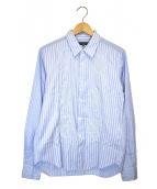 COMME des GARCONS HOMME(コムデギャルソンオム)の古着「デザインシャツ」|スカイブルー