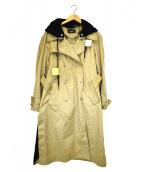 DIESEL(ディーゼル)の古着「デザインオーバーコート」|ベージュ