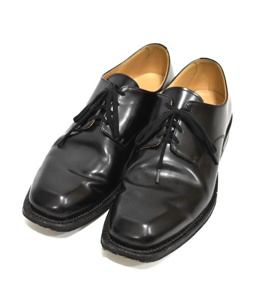 AURALEE(オーラリー)AURALEE (オーラリー) スクエアトゥシューズ ブラック サイズ:10 MADE BY FOOT THE COACHER A20SS01FCの古着・服飾アイテム