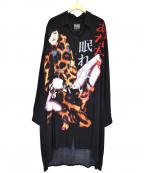 BLACK SCANDAL YOHJI YAMAMOTO(ブラックスキャンダルヨージヤマモト)の古着「あなたも眠れないブラウス」 ブラック