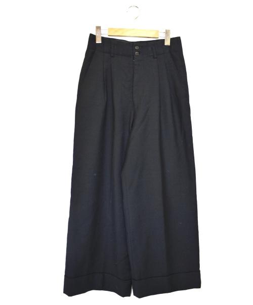 COMME des GARCONS(コムデギャルソン)COMME des GARCONS (コムデギャルソン) 2タックワイドパンツ ブラック サイズ:S GP-05003Sの古着・服飾アイテム