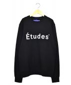 Etudes(エチュード)の古着「クルーネックスウェット」|ブラック