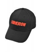 HERON PRESTON(ヘロン プレストン)の古着「ロゴキャップ」|ブラック