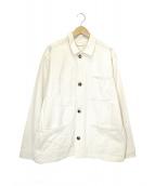 THENEWDENIMPROJECT(ザニューデニムプロジェクト)の古着「デニムカバーオール」|ホワイト